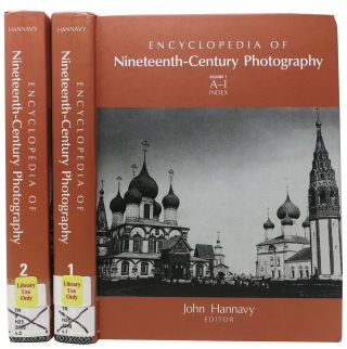 ENCYCLOPEDIA Of NINETEENTH-CENTURY PHOTOGRAPHY. Volume 1. A - I Index. Volume 2. J - Z. ...