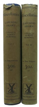 MISCELLANIES.; Articles and Stories Now First Collected by Albert Mordell. Lafcadio . Mordell...