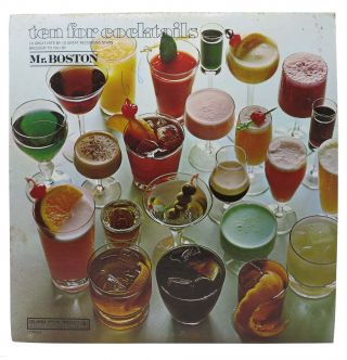 TEN For COCKTAILS - MR. BOSTON.; 10 Great Hits by 10 Great Recording Stars. Record/Vinyl