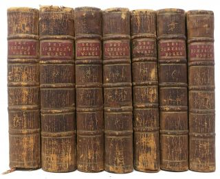 The WORKS Of BEN. JONSON. In Seven Volumes.; Collated with All the Former Editions, and Corrected; with Notes Critical and Explanatory. Benjamin . Whalley Jonson, Peter -, 1573? - 1637, 1722 - 1791.