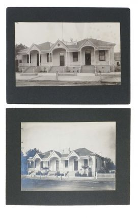 SIX HISTORIC PHOTOGRAPHS Of The WATSONVILLE SANATORIUM.