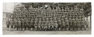 BATTERY B 38th FIELD ARTILLERY. ARTILLERY BRIGADE (Camp Lewis Wash. Nov. 1918). Unit...