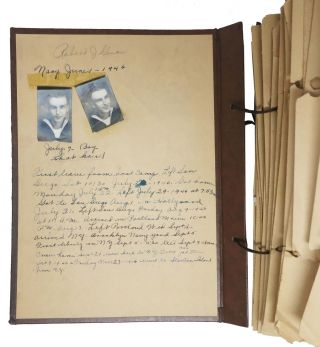 ARCHIVE OF ROBERT J. GIVEN. Letters and Ephemera.