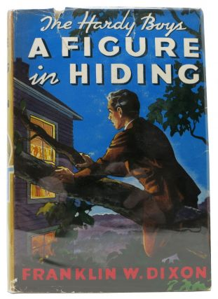A FIGURE In HIDING. The Hardy Boys Mystery Series #16. Franklin W. Paul Laune - Dixon