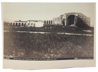 CABINET CARD PHOTOGRAPH. Mission San Juan Capistrano, founded 1776, Los Angeles Co., Cal. B...