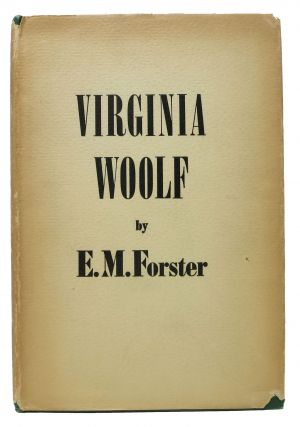 VIRGINIA WOOLF. E. M. Woolf Forster, Virginia - Subject