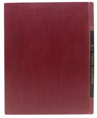 A LIST Of The WRITINGS Of CHARLES DICKENS. [accompanied by] TNs from Parrish to W[illiam]...