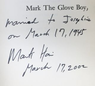 MARK The GLOVE BOY or, The Last Days of Richard Nixon.