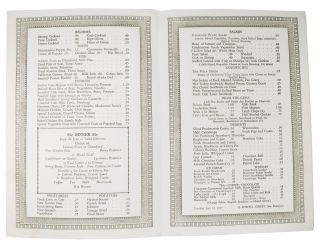 PIG'N WHISTLE.; Dinner Service - 5 to 8:30 P.M.