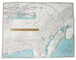 E-Z GUIDE MAP Of OAKLAND, CALIFORNIA With Patent Indicatior.; Shows at a glance the exact...