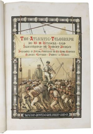 The ATLANTIC TELEGRAPH.; Illustrated by Robert Dudley.
