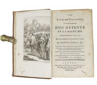 The LIFE And EXPLOITS Of The INGENIOUS GENTLEMAN DON QUIXOTE De La MANCHA.; Translated from the Original Spanish of Miguel Cervantes de Saaverdra. The Whole carefully revised and corrected, with a new Translation of the Poetical Parts by another Hand.