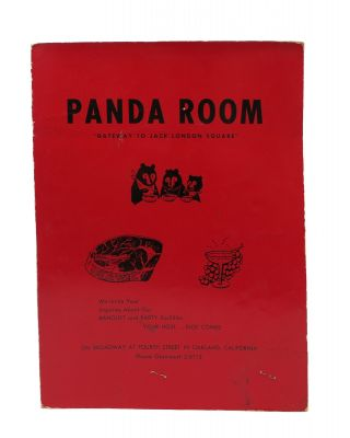 "PANDA ROOM.; ""Gateway to Jack London Square"" Restaurant Menu - Oakland"