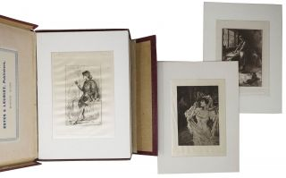 GEORGE ELIOT ILLUSTRATIONS. Satin Proofs. De Grand Luxe Edition.