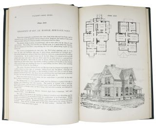 PALLISER'S MODEL HOMES. Showing a Variety of Designs for Model Dwellings: Also, Farm-Barn and Hennery, Stable and Carriage House, School House, Masonic Association Building, Bank and Library, Town Hall and Three Churches.; Together with a Large Amount of Miscellaneous Matter, Making in All a Very Valuable Book for Every One Who Contemplates Building.
