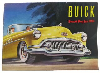 "BUICK ""Smart Buy for 1951"" Automotive Promotional Brochure"