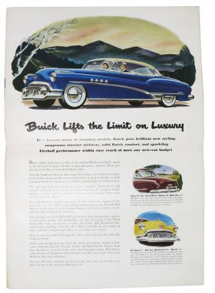 """BUICK """"Smart Buy for 1951"""""""