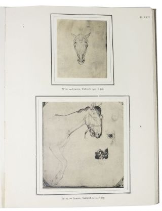 DESSINS De PISANELLO Choisis et Reproduits aven Introduction et Notices par George F. Hill.