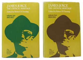 JAMES JOYCE - The CRITICAL HERITAGE. Two Volumes.; Volume One: 1907 - 1927. Volume Two: 1928 - 1941.