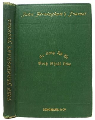 JOHN JERNINGHAM'S JOURNAL. Dudley Hart, - Attributed to
