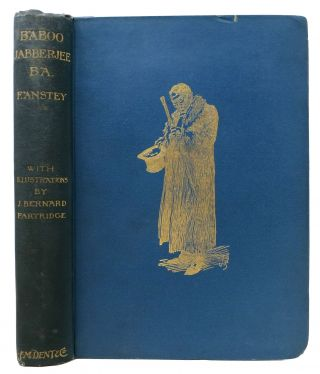 BABOO JABBERJEE. B.A. F. Anstey, Thomas Anstey. 1856 - 1934 nom de plume for Guthrie