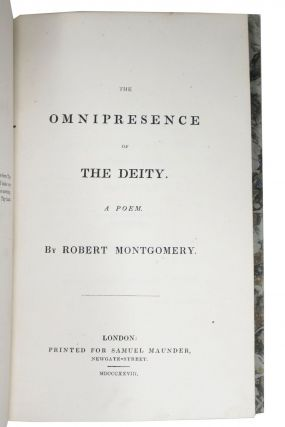 The OMNIPRESENCE Of The DEITY. A Poem.