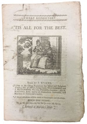 'TIS ALL FOR The BEST. Chiclren's Chapbook, Hannah. 1745 - 1833 More