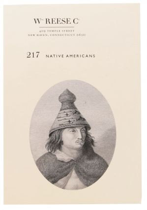 217 NATIVE AMERICANS; Wm. Reese Co. Bookseller Catalog