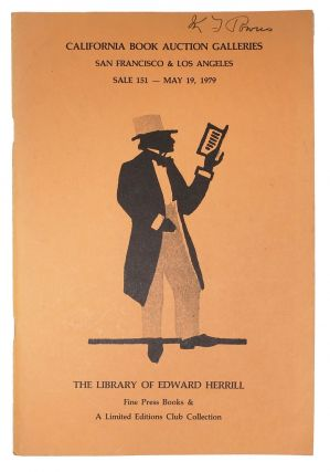 The LIBRARY Of EDWARD HERRILL.; Fine Press Books & A Limited Editions Club Collection. Auction...