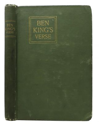 BEN KING'S VERSE.; With an Introduction by John McGovern, and Biography by Opie Read. Nixon -...