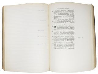 A ROUGH LIST Designed as the Basis of a More Complete CATALOGUE Of The LIBRARY Of SAMUEL L. M. BARLOW, Compiled by James Osborne Wright. Americana, 1477 - 1799.
