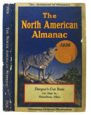 The NORTH AMERICAN ALMANAC. 1926. Anonymous