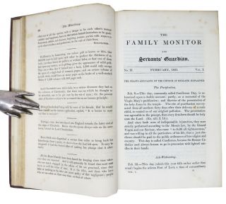 The FAMILY MONITOR For 1831. [Volume t.p.].; Individual issue title: The FAMILY MONITOR And SERVANT'S GUARDIAN.