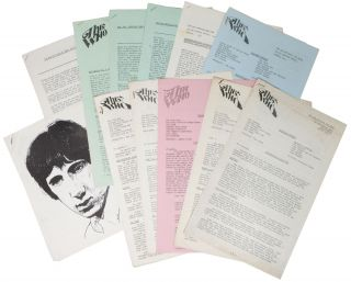 The WHO. The Who Official Fan Club Newsletter. Lot of 12 Issues, 1967 - 1969. Fanzine, Tom -...
