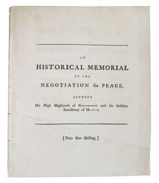 The COALITION: or, an Historical Memorial of the Negotiation for Peace, Between His Hightiness of...