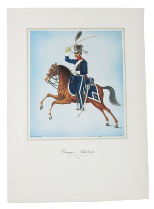 DRAGOON In FULL DRESS. [cover title].; Dinner. S. S. Statendam. Ocean Linear Menu