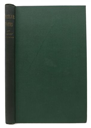 SECULAR POEMS By HENRY VAUGHAN, Silurist; Including a Few Pieces by His Twin-Brother Thoms...