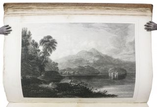 SWAN'S VIEWS Of The LAKES Of SCOTLAND: A Series of Views, from Paintings Taken Expressly for the Work;; With Historical and Descriptive Illustrations, by John M. Leighton, Esq. And Remarks on the Scenery of the Highlands by Professor Wilson. Vol. I.