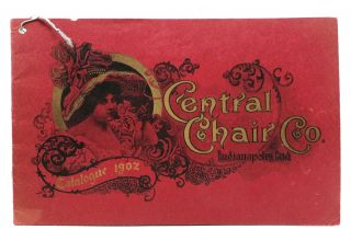 CENTRAL CHAIR CO. Manufacturers of Chairs and Rockers. Spring Catalogue, 1902. Trade Catalogue