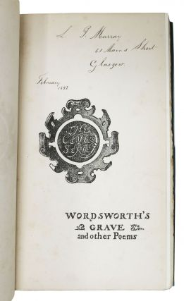 WORDSWORTH'S GRAVE And Other POEMS. Cameo Series.