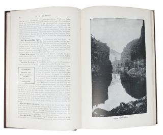 OVER THE RANGE To The GOLDEN GATE.; A Complete Tourist's Guide to Colorado, New Mexico, Utah, Nevada, California, Oregon, Puget Sound and the Great North-West. Revised to 1904 by C. E. Hooper.