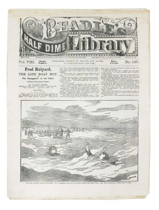 FRED HALYARD, The Life Boat Boy; or, The Smugglers of the Inlet. A Story of the Lower Beach.;...
