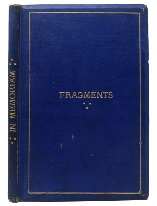 FRAGMENTS. Robert Maidstone Smith