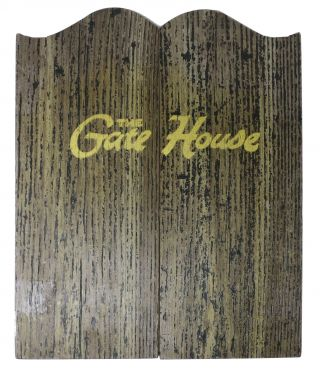 The GATE HOUSE. Restaurant Menu -California