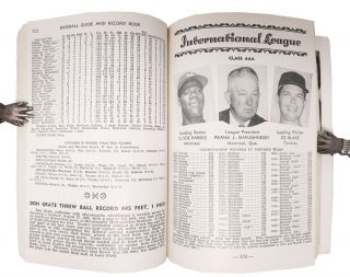 OFFICIAL BASEBALL GUIDE For 1957.