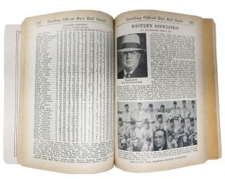 SPALDING'S OFFICIAL BASE BALL GUIDE. Sixty-first Year. 1937.; Spalding's Athletic Library. No. 100x. Price 35 cents.