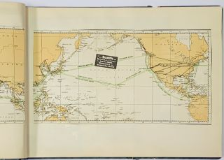 SCRAPBOOK. Ocean Voyages From - To Seattle / Hong Kong / Manila / Shanghai [et al. 1933 - 1937].