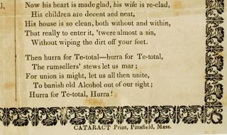 POOR TOM.; By Thomas Ward, Temperance Advocate.