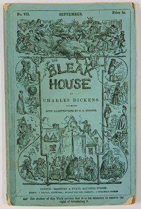 BLEAK HOUSE. No. VII. September. Price 1s. Charles Dickens