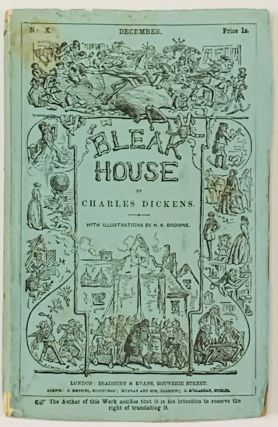 BLEAK HOUSE. No. X. December. Price 1s. Charles Dickens